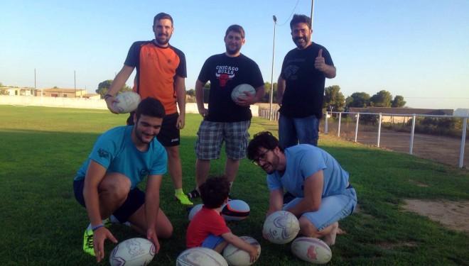El rugby da sus primeros pasos en Hellín