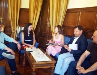 Reunión en el Ayuntamiento con los nuevos responsables de la UNED de Albacete