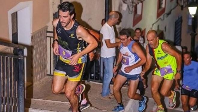 Christian Hernández y María Larrey vencedores de la II  Carrera Nocturna Casco Antiguo City Trail