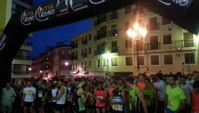 Segunda edición  de la carrera nocturna Casco Antiguo City Trail
