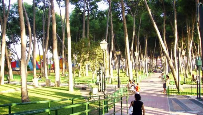 Nuestro parque en el olvido