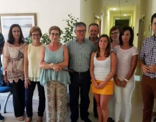 Visita de la directora general de Planificación, Ordenación e Inspección  Sanitaria al FISLEM