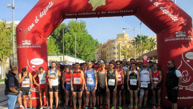 """Jesús Ángel Rodríguez e Inés Cano vencedores de la Media Maratón Ciudad de Hellín """"Honorio Soria Cifo"""""""