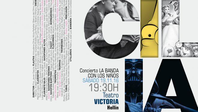 Concierto en honor a Santa Cecilia por la Unión Musical de Hellín