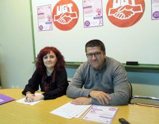 """UGT presenta el taller """"Palabras que vencen la violencia de género"""""""