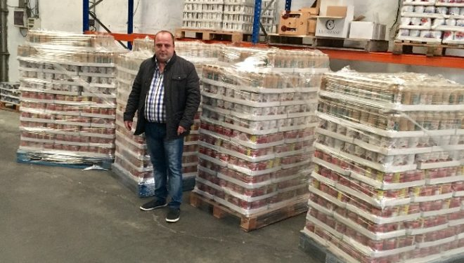 La empresa de Toros de Antonio Soler entregará 4000 kilos de comida a Cáritas de Hellín y Archena