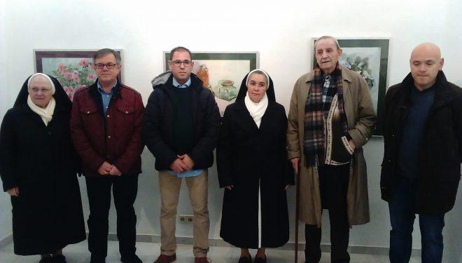 Exposición de acuarelas de África Rosellón en el Museo Comarcal