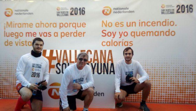 La familia de José García completó con éxito su participación en la San Silvestre Vallecana