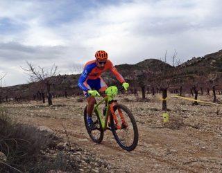 Alberto López fue tercero en la primera prueba del Circuito Provincial de Mountain Bike disputado en Ontur