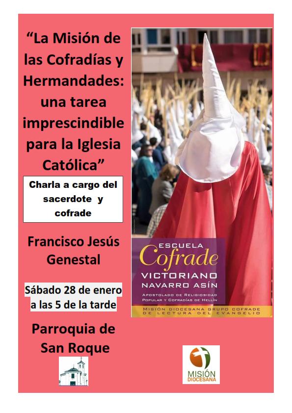 charla Genestal Escuela cofrade