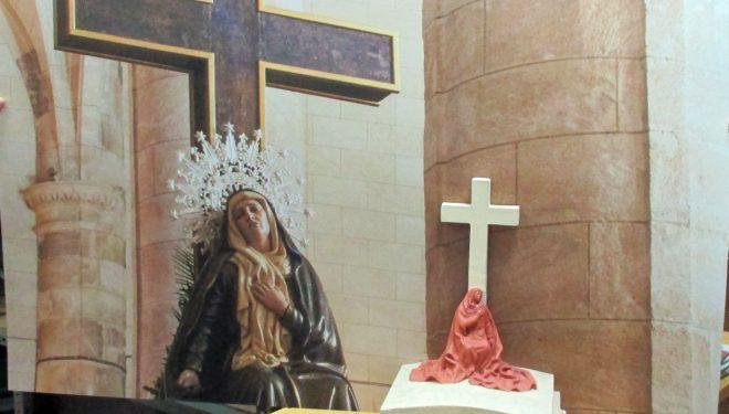 La maqueta de la Virgen de las Angustias de Víctor de los Ríos en Hellín