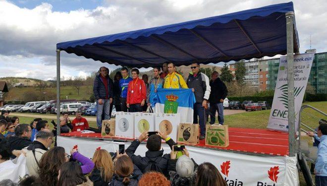 Morote logró la medalla de bronce en el Campeonato de España de Cross