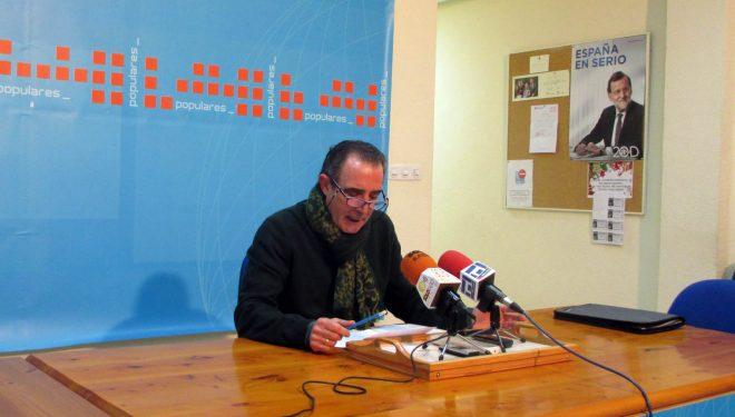 Manuel Mínguez asegura que el equipo de gobierno municipal está creando confusión con los recibos del IBI