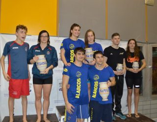 Nerea Ibáñez y Alejandro Jiménez triunfadores en el Campeonato de natación de Castilla-La Mancha