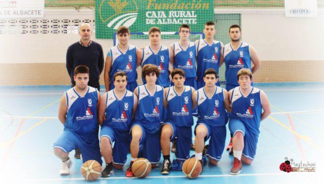 Los junior del AD Baloncesto Hellín dan un paso de gigante para acceder al campeonato de España de juveniles
