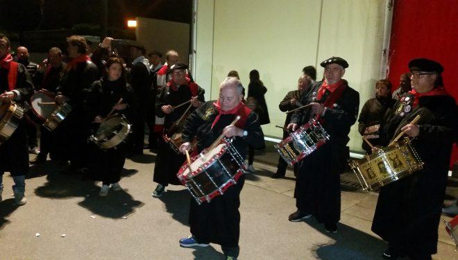 Los tambores hellineros sonaron en Bilbao