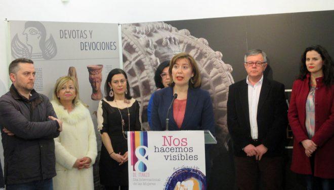 Acto institucional con motivo del Día Internacional de la Mujer organizado por la concejalía de la Mujer e Igualdad