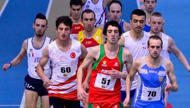 José Martínez Morote en busca de una medalla en el Campeonato de Europa