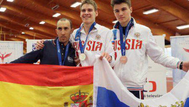 Dos medallas de plata para Morote en los Campeonatos de Europa de Atletismo en Pista Cubierta