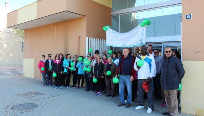 El Centro de Salud 2 de Hellín promociona el ejercicio físico con una marcha entre usuarios
