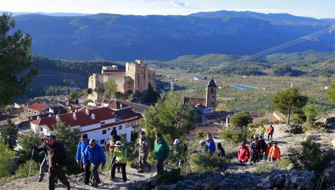 Espectaculares paisajes en la ruta de senderismo de la Diputación por Yeste