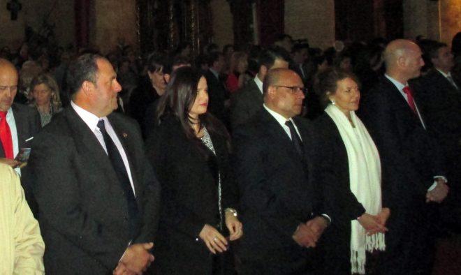 Autoridades asistenteces al acto / EFDH.