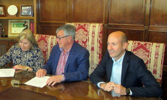Firma del convenio de colaboración / EFDH