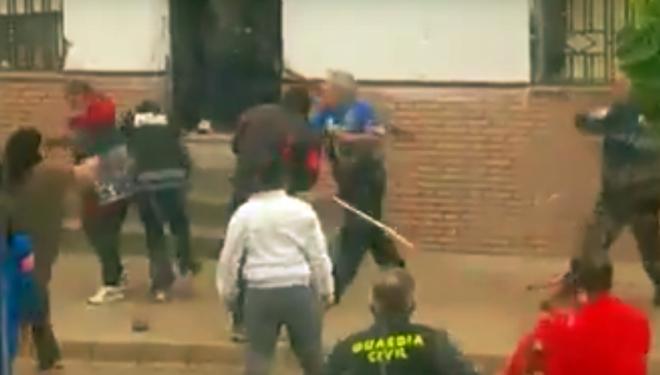 Terrible pelea entre dos familias búlgaras en Tobarra