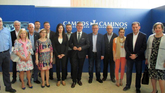 Visita del Secretario de Estado, Formación Profesional y Universidades, Marcial Marín, a Hellín