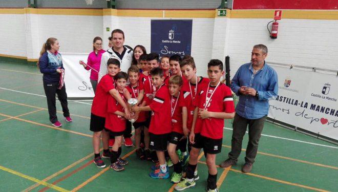 El  equipo Alevin de Capuchinos subcampeón de Castilla-La Mancha