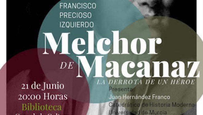 """Presentación del libro """"Mechor de Macanaz: la derrota de un héroe"""""""
