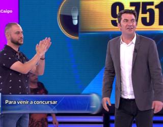 """Un hellinero gana 9.751 euros en el concurso """"Ahora caigo"""""""