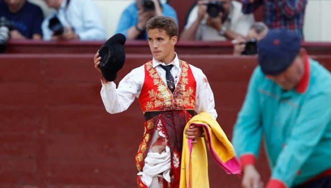 Diego Carretero ovacionado en Las Ventas