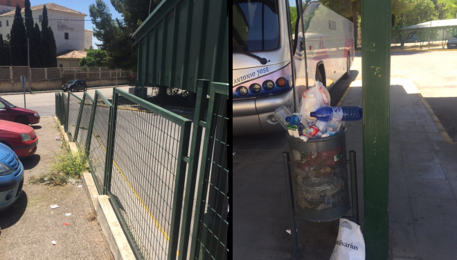 El PP califica de lamentable estado de las zonas comunes de la Estación de Autobuses