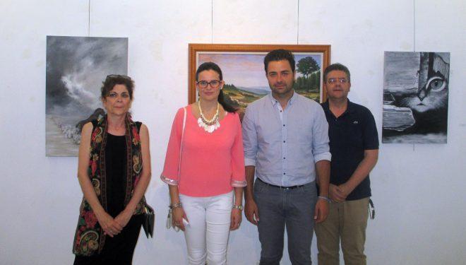 Inaugurada la exposición del Taller de Dibujo y Pintura de la UP