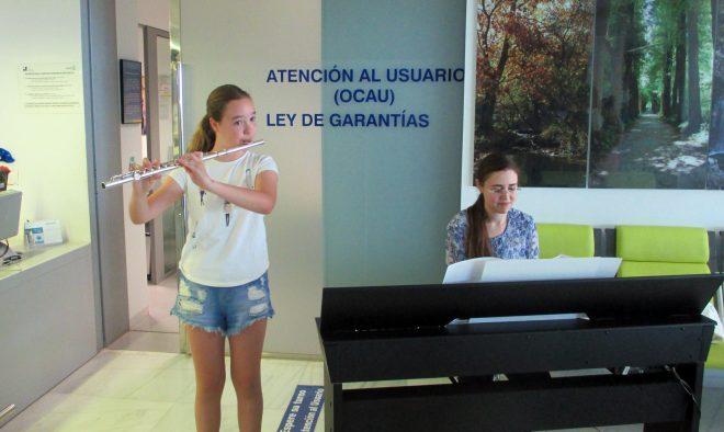 """""""Música con H"""" en el Hospital de Hellín / EFDH."""