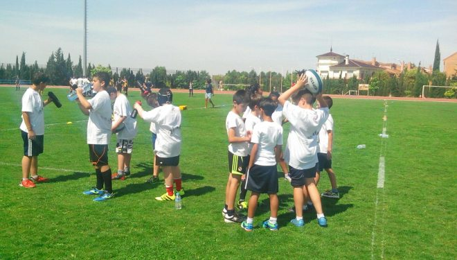 Puesta en marcha la Escuela de Rugby