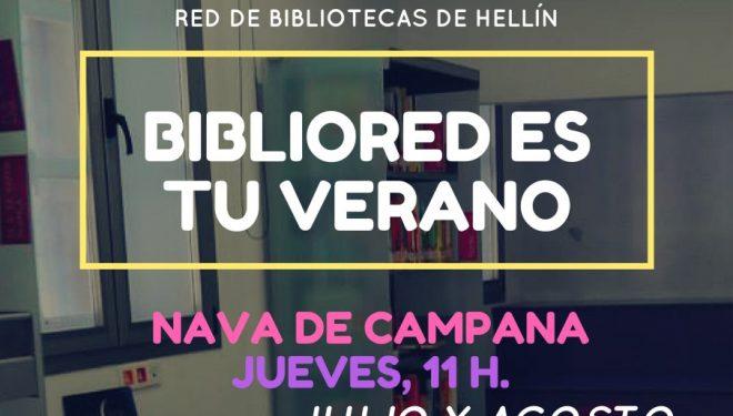 Actividades de Verano en la Red de Bibliotecas de Hellín