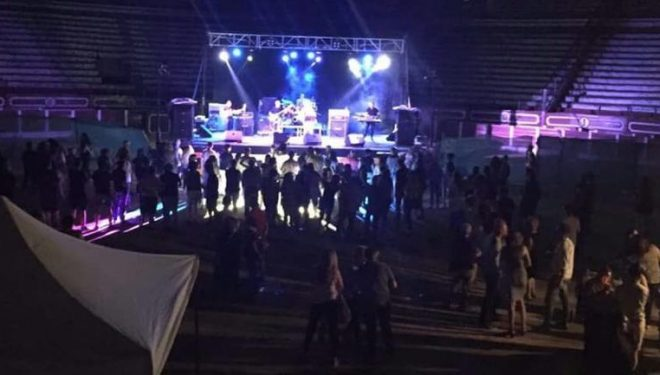 Poco público en el concierto organizado por la Hermandad de la Virgen de la Alegría