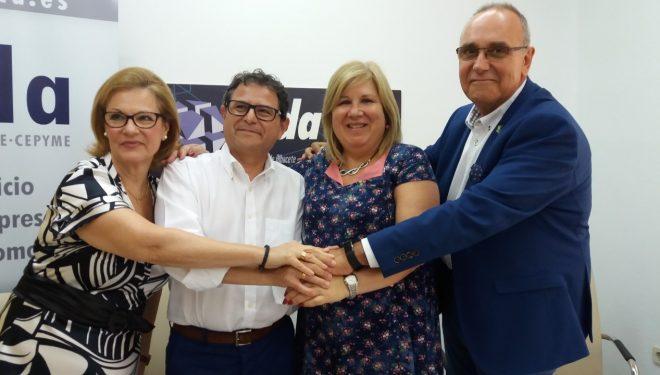Feda firma un convenio de colaboración para la inclusión laboral de los usuarios de Asprona