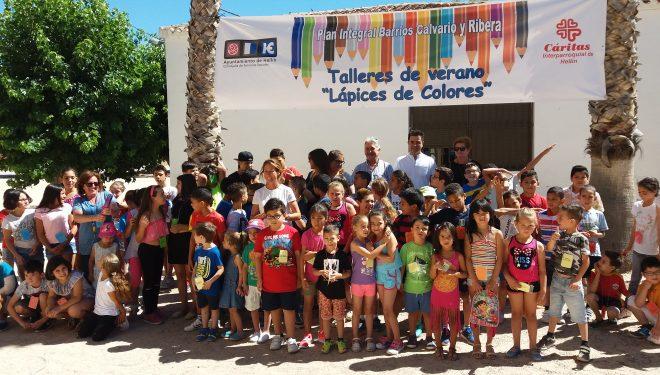 """Inaugurado el taller """"Lápices de Colores"""" en el Colegio Público Martínez Parras"""