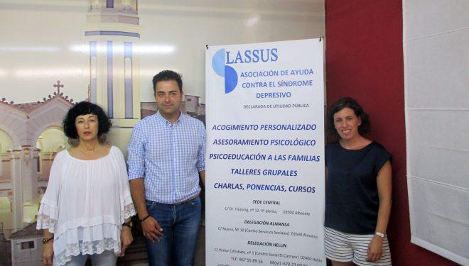 Presentación de la Asociación de Ayuda Contra el Síndrome Depresivo (LASSUS)