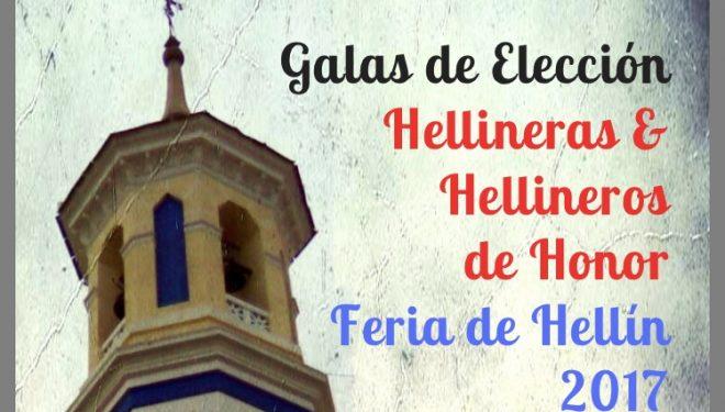 Presentación de las galas para la elección de los Hellíneros de Honor
