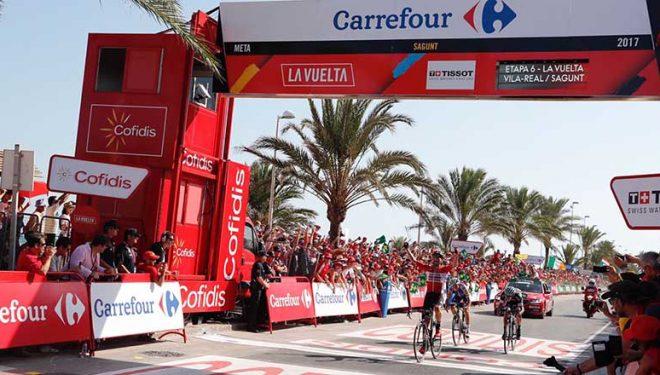 La Vuelta a España llega a Hellín