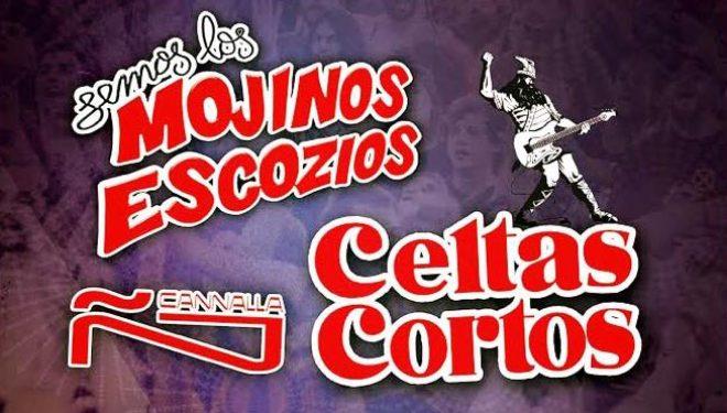 Celtas Cortos y Mojinos Escozios, protagonistas del concierto de la Feria 2017