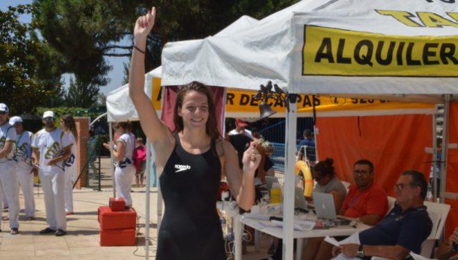 Buena actuación de Nerea Ibáñez en los campeonatos de España de Natación