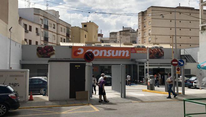 Ya podemos conocer el nuevo supermercado Consum, situado en las calles San Juan de Dios y Eulogio Silvestre de Hellín