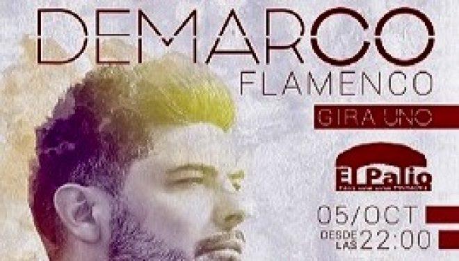 Gran expectación para ver el concierto del cantante Demarco Flamenco
