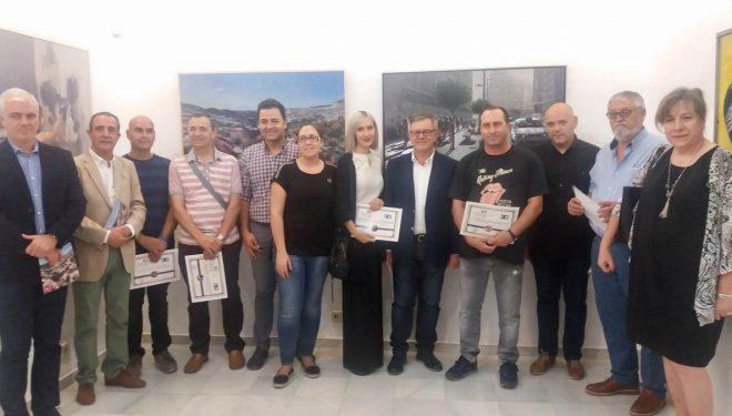 Inaugurada la exposición de las obras presentadas al Concurso Nacional de Pintura Ciudad de Hellín