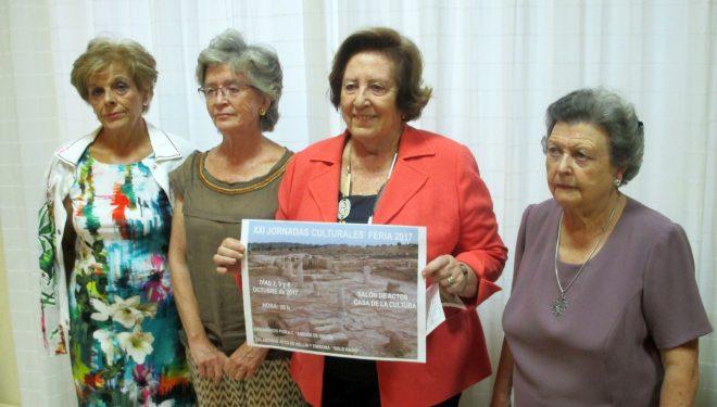 Presentadas las XXI Jornadas Culturales de la Feria 2017-09-21